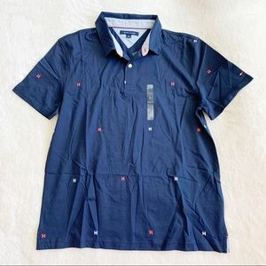 NWT Tommy Hilfiger Jersey Cotton Polo Shirt